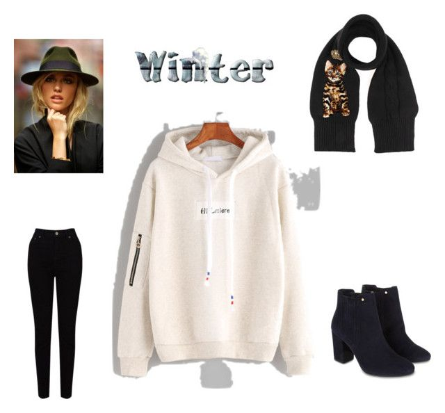 """""""A day in Winter"""" by marthagoldfield ❤ liked on Polyvore featuring EAST, Dolce&Gabbana and Monsoon"""