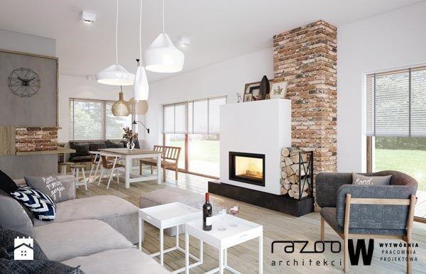 Pin On Salon Z Kominkiem Living Room With A Chimney