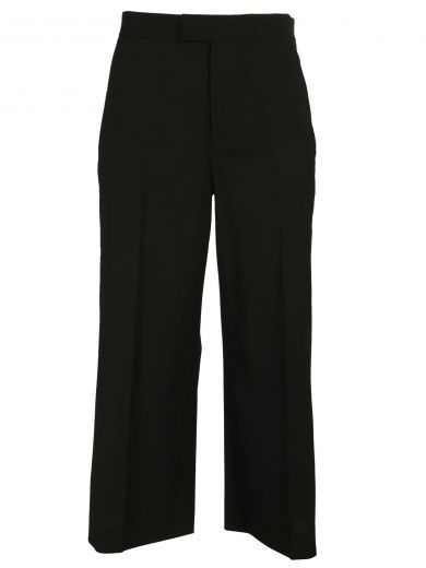 cropped flared trousers - Black Red Valentino TgTTsvsr