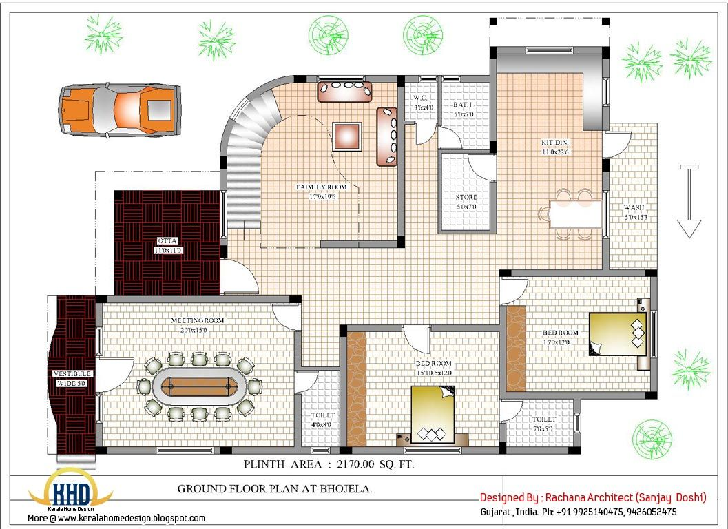 Home designs floor plans indiaHouse design ideasPinterest