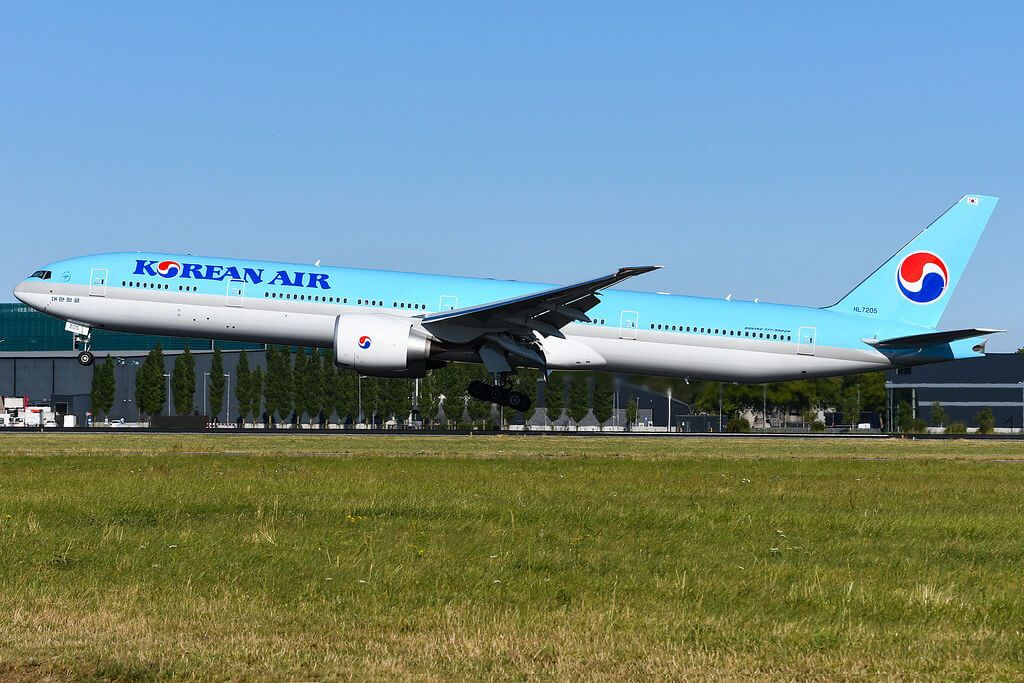 Korean Air Fleet Boeing 777300ER Details and Pictures