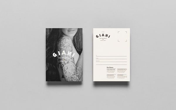 Giahi tattoo and piercing studio business card design by giahi tattoo and piercing studio business card design by anagrama reheart Image collections