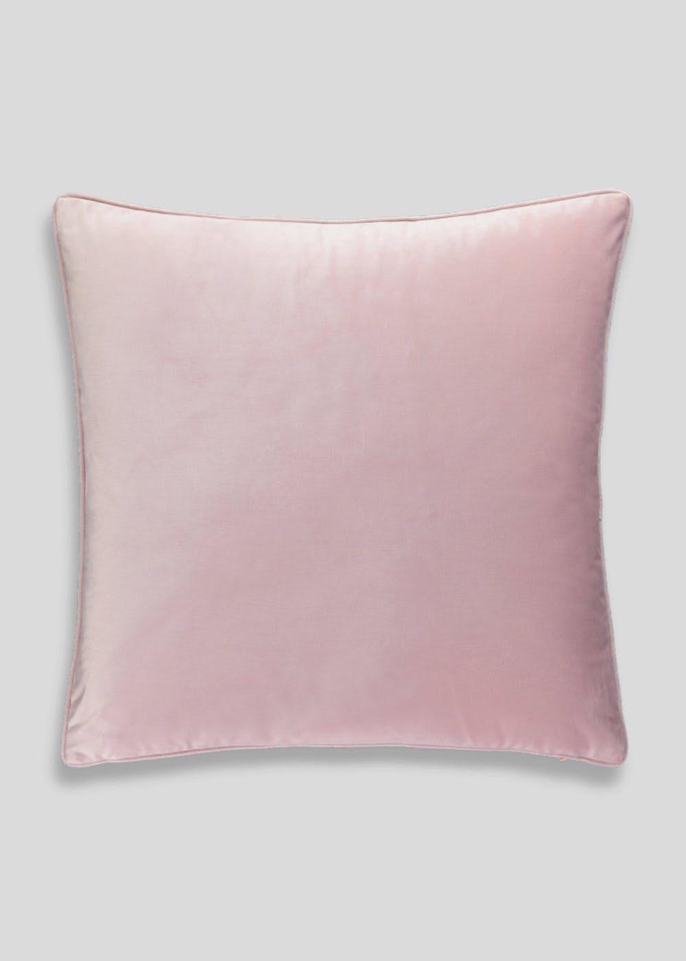 Large Matte Velvet Cushion 58cm X 58cm Pink In 2019 Friends