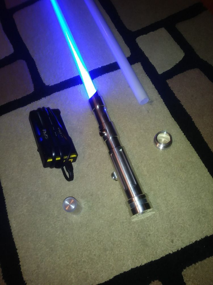 ultrasabers prophecy v3 with obsidian v4 soundboard and extras