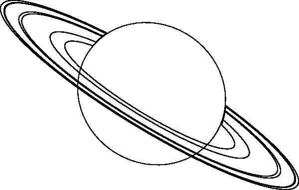 Clip Art Space Explration Outline