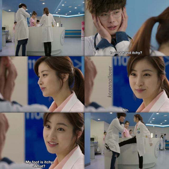 Doctor Stranger scene hahah. So funny. | Korean drama