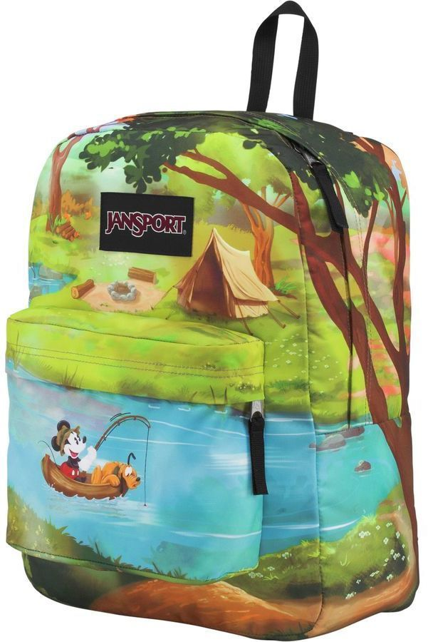 cd57fb0f54 JanSport Disney High Stakes Forest Camp 25L Backpack