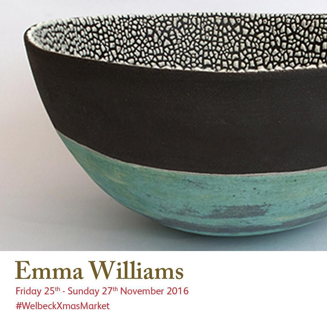 See Emma Williams at #welbeckxmasmarket. Low fired #ceramic bowls and #brooches, inspired by observations of the natural world and made from red and black clays.