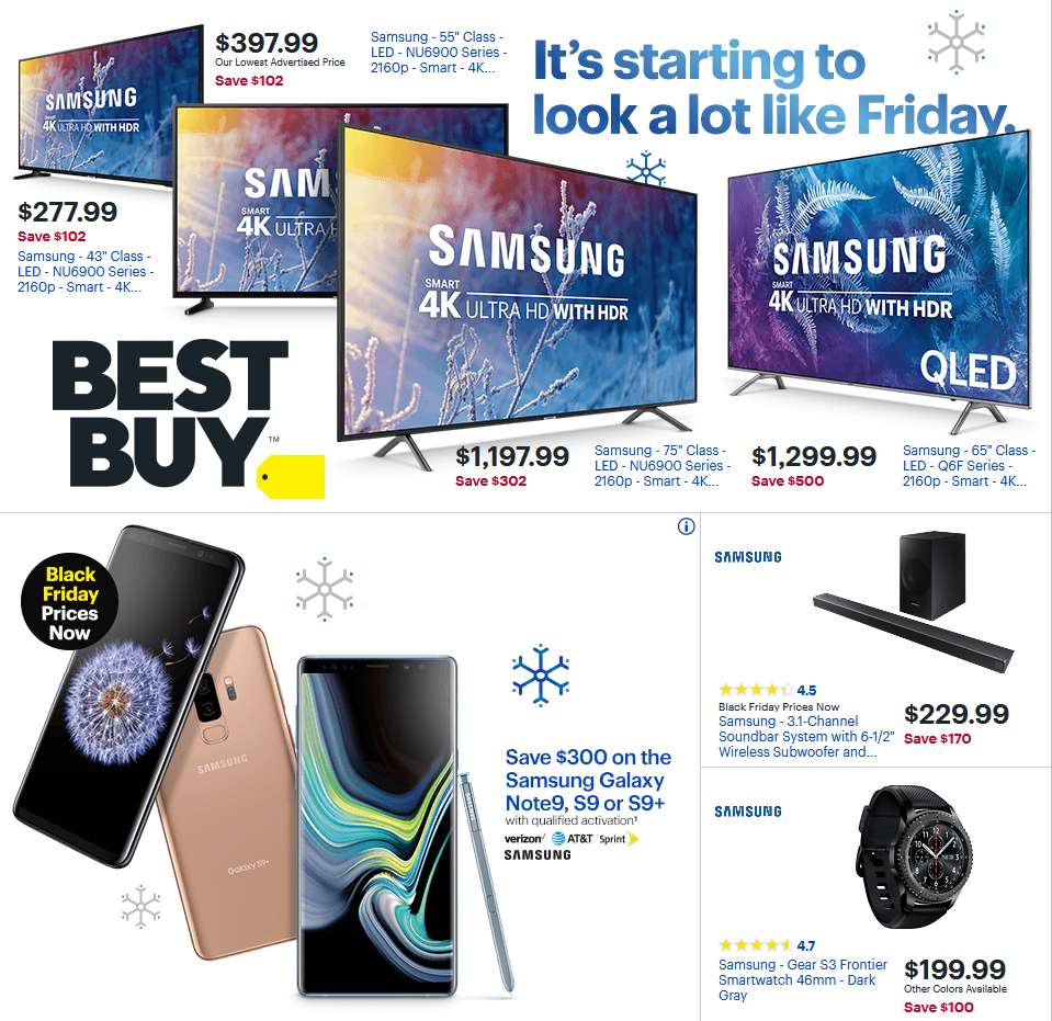 Current Sunday Ad Best Buy Weekly Ad Flyer For This Week Valid November 18 21 2018 Customers Can Find Best Buy Cool Things To Buy Weekly Ads Stuff To Buy