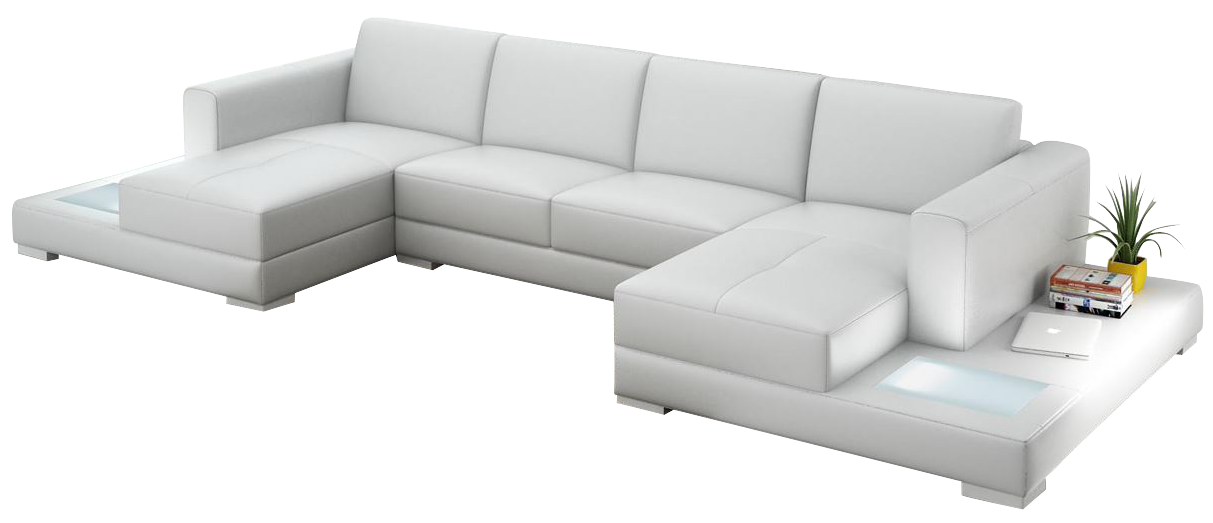 Representation Of Double Chaise Sectional Sofas Type And Finishing
