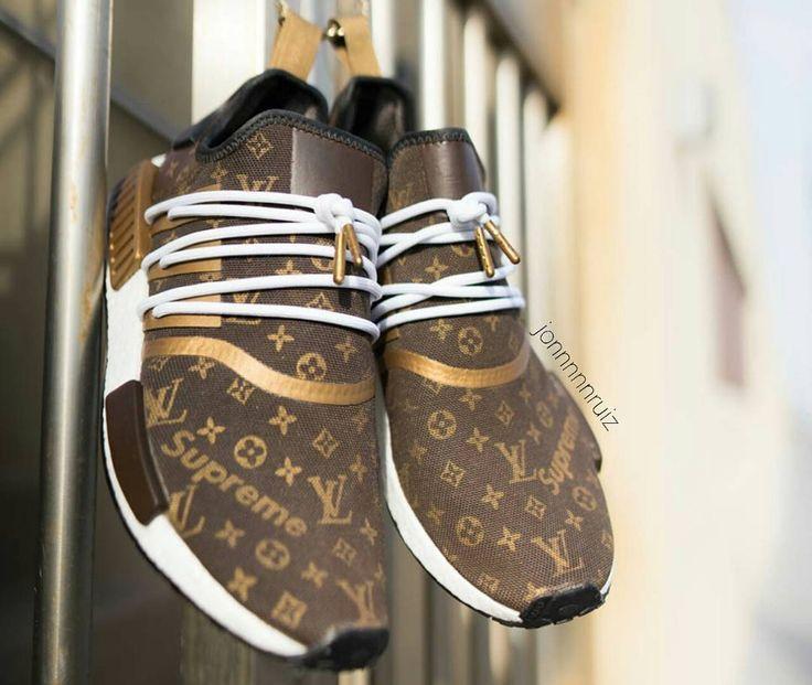 Supreme X Louis Vuitton X Adidas Nmd R1 Speedy Jonnnnnruiz 1 Louis Vuitton Schuhe Adidas Schuhe Damen Schuhe Damen