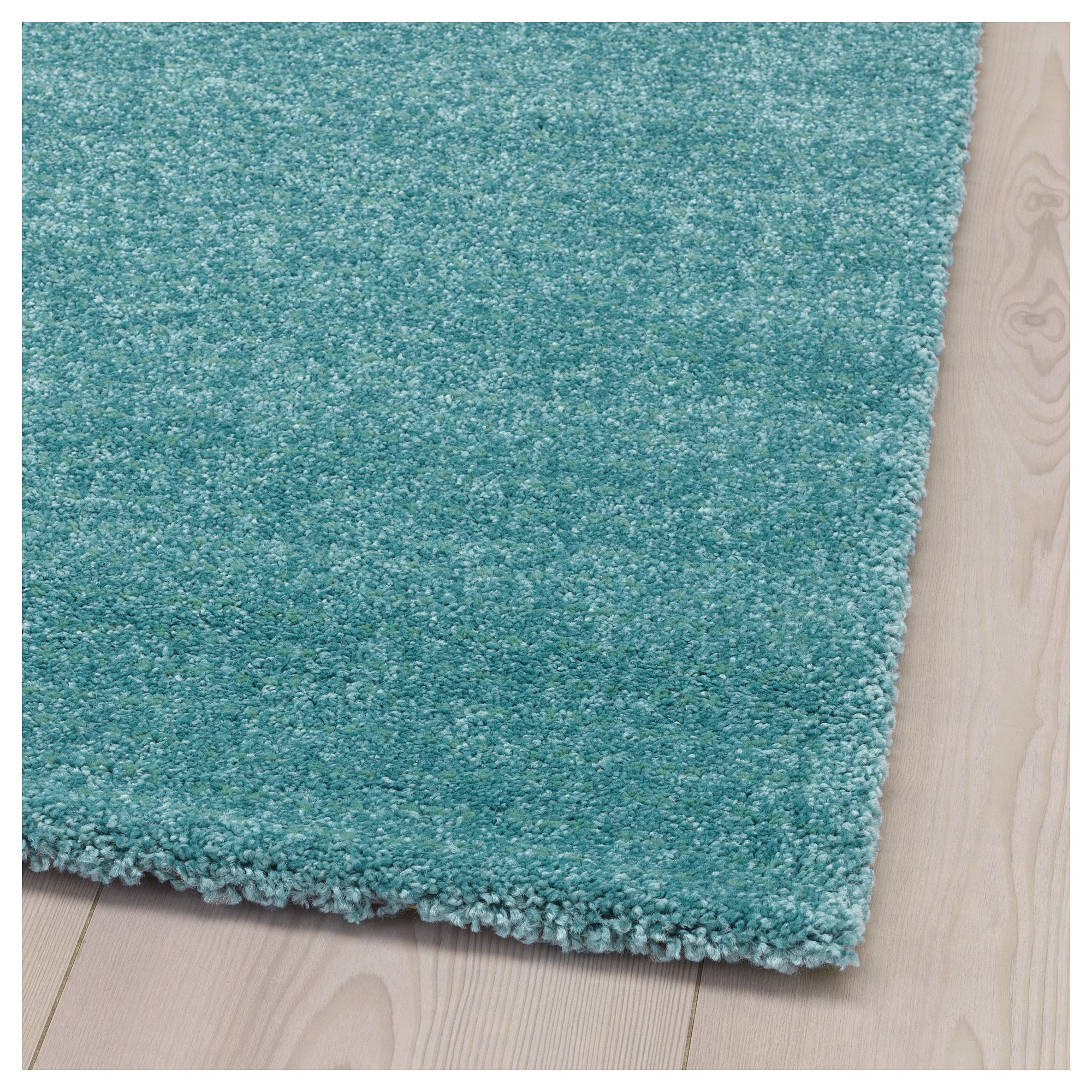 Vintage Teppich Türkis Ebay Ikea Langsted Rug Low Pile Turquoise Wohnung Sophie Und