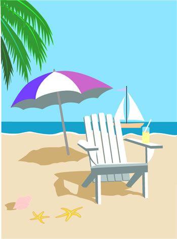 tropical beach clip art inspiration pinterest beach clipart rh pinterest com free beach clip art pictures free beach clip art borders