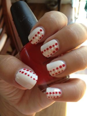 Nails Inspired by Canada Day