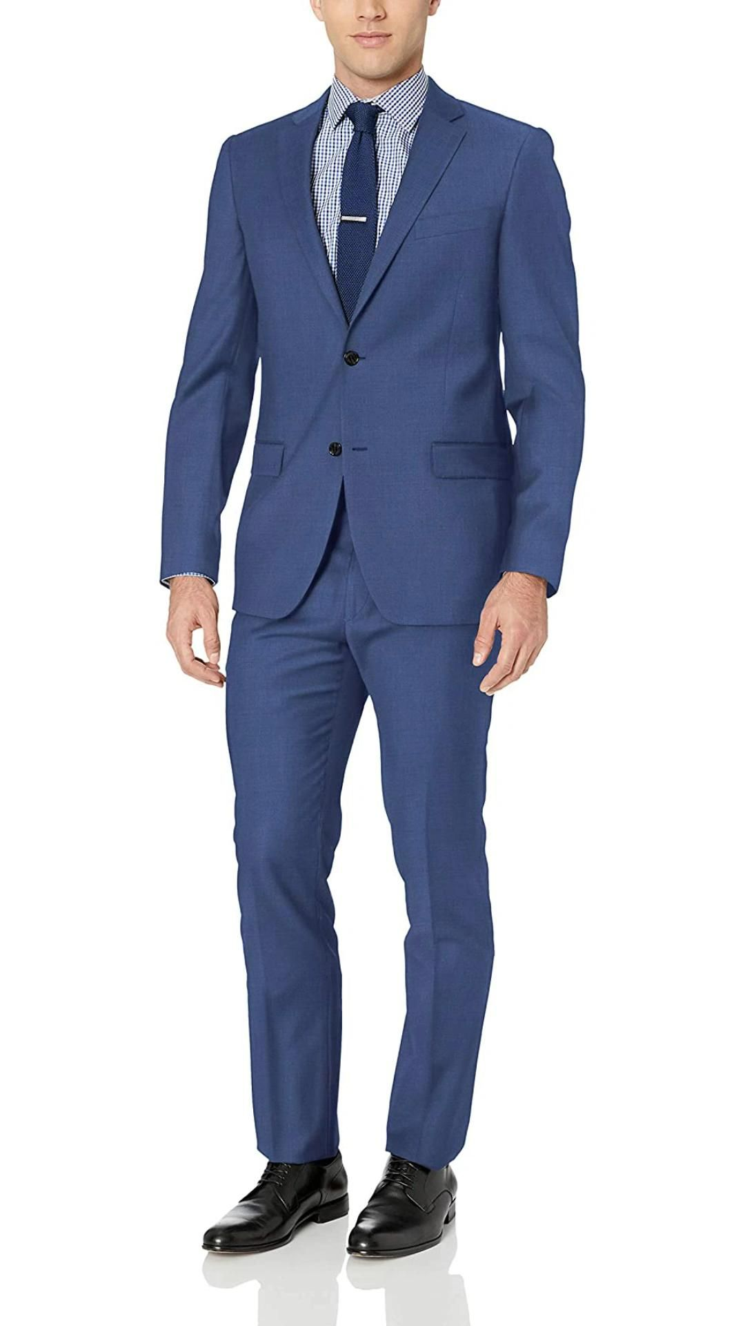 Tommy Hilfiger Mens Slim Fit Performance Suit with Stretch