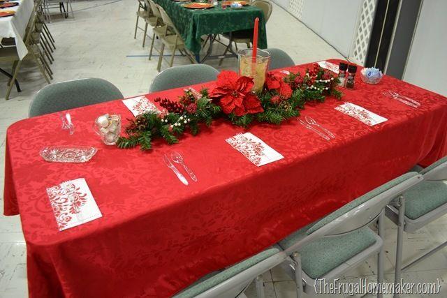Christmas Banquet Ideas For Church Christmas Dinner Table Ideas From Our C Christmas Banquet Decorations Christmas Dinner Decorations Christmas Dinner Table