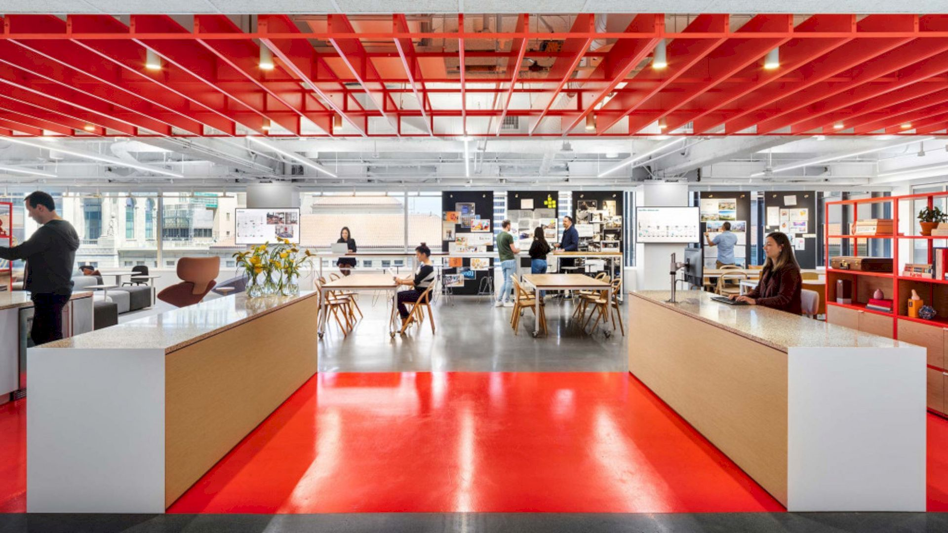 45 Fremont Flexible And Adaptive New Office With Modern Interior