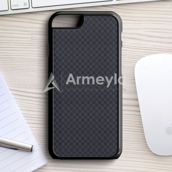 Louis Vuitton Black Grey Texture iPhone 7 Case | armeyla.com