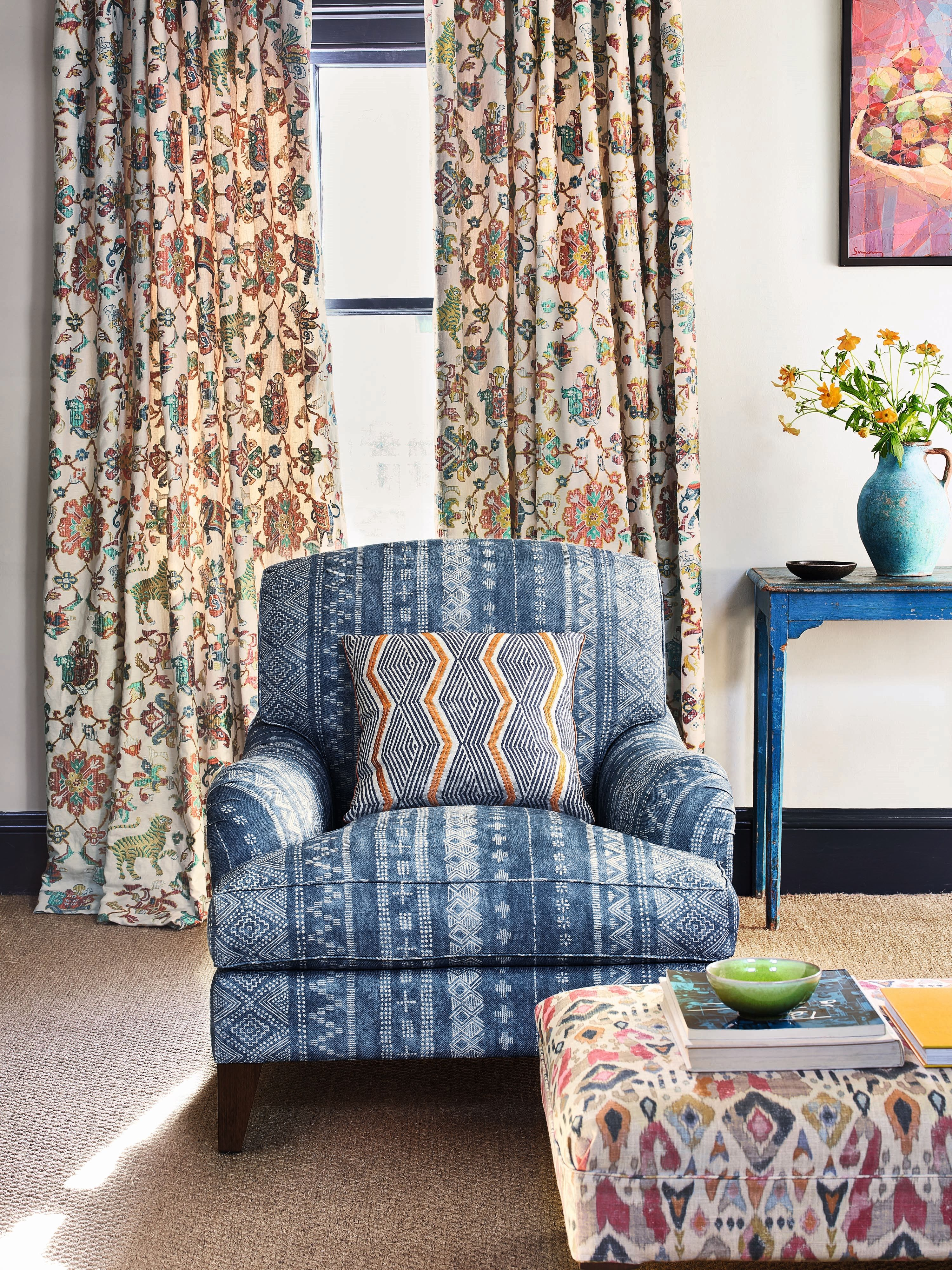 Pin By Jane Churchill On Azara Collection Interior Inspiration Home Decor Upholstery