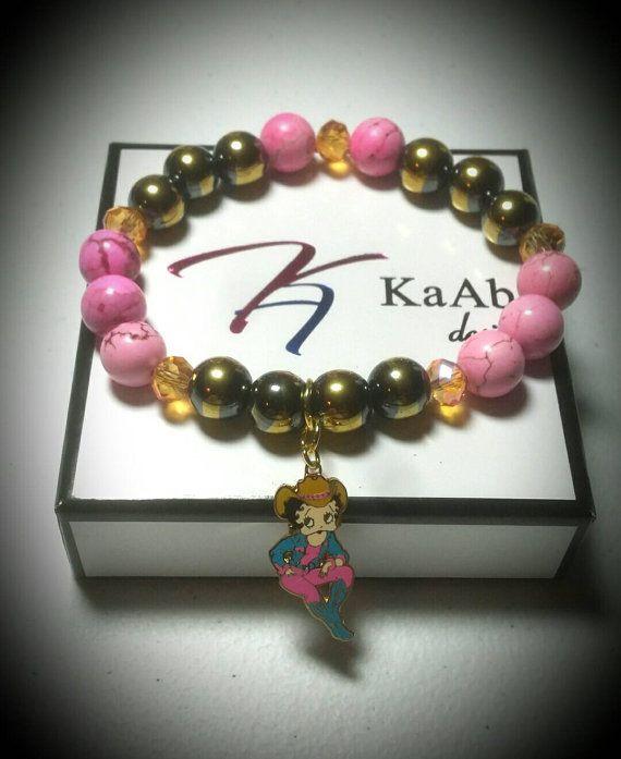 BB Pink Girl Bracelet by KaAbDesigns on Etsy