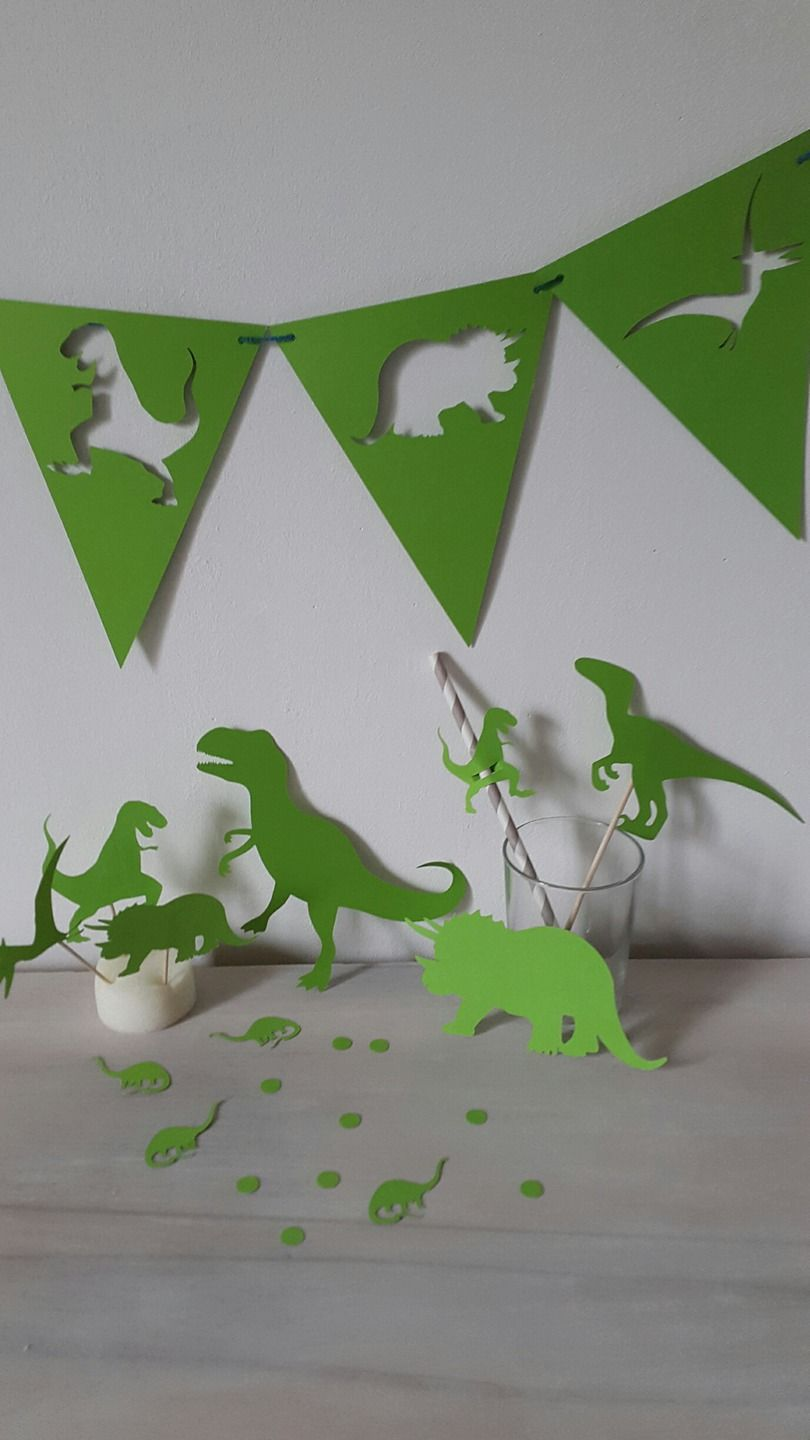 kit d coration anniversaire dinosaure baby shower candy bar dinosaures prehistoire. Black Bedroom Furniture Sets. Home Design Ideas