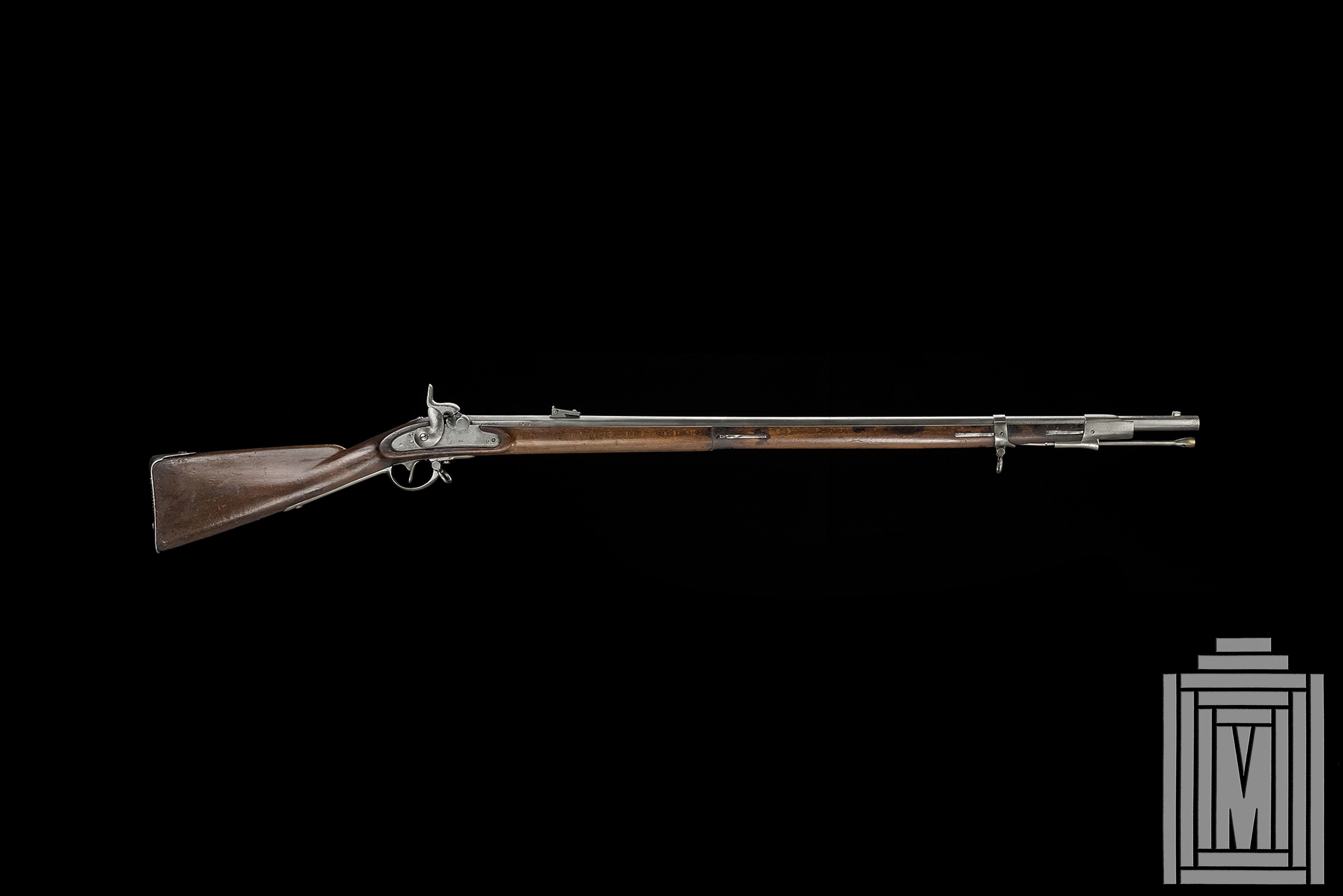 Austrian infantry rifle system lorenz model 1854 ii calibre 13 9