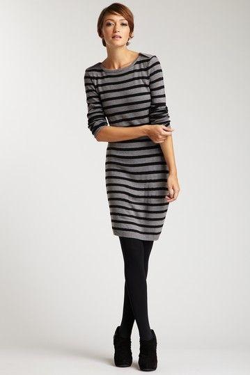 Laundry by Design Stripe Tubular Dress In Stripes Pinterest