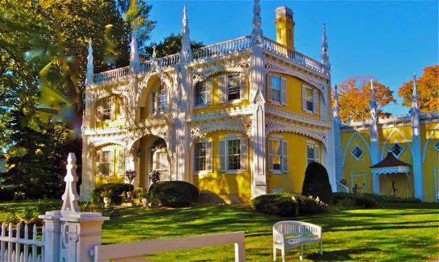 Victoriana The Wedding Cake House Kennebunkport Maine