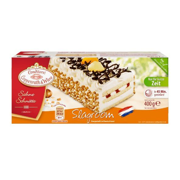 Coppenrath & Wiese Slagroom cheap at ALDI Nord