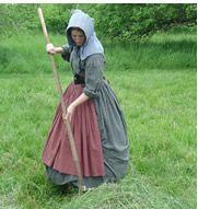 Civil War era agriculture #dressesfromthesouthernbelleera