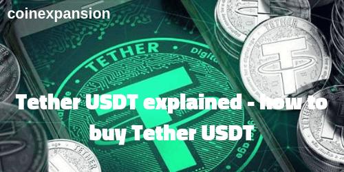 USDT Tether coin