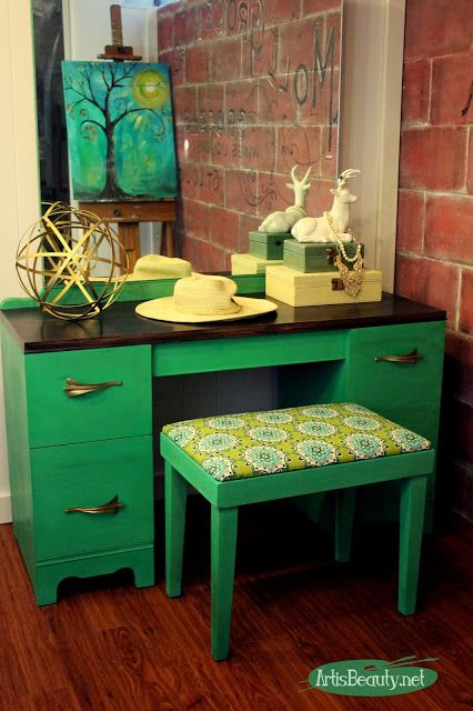 Зеленый цвет в интерьере - Дизайн интерьера Декор своими 93