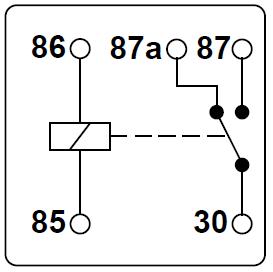 d86ed2acaf025994da583e5ade81a2ce 12 volt fan relay wiring diagram schematic diagrams