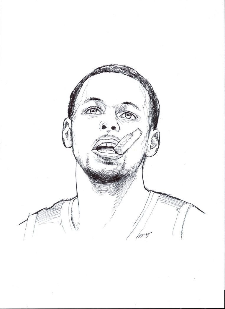 Stephen Curry By Chummyboi Basketball Drawings Stephen Curry