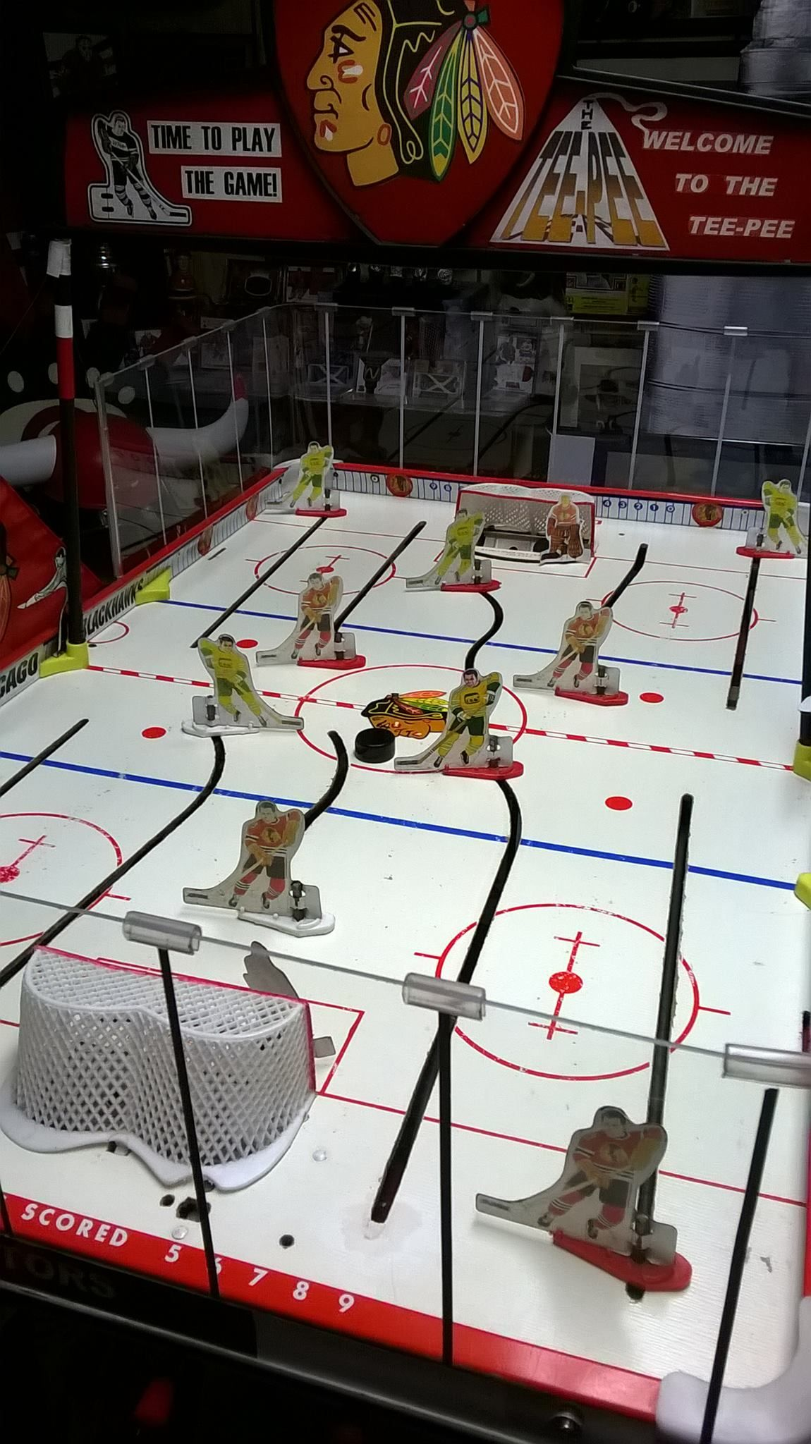 Chicago Blackhawks vs. Chicago Cougars! Hockey