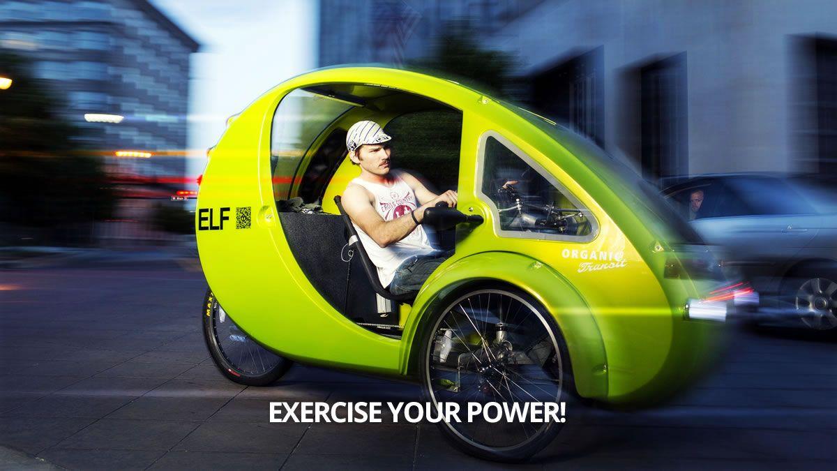 Organic Transit Elf 3 Wheel Electric Vehicle 4995 Biler