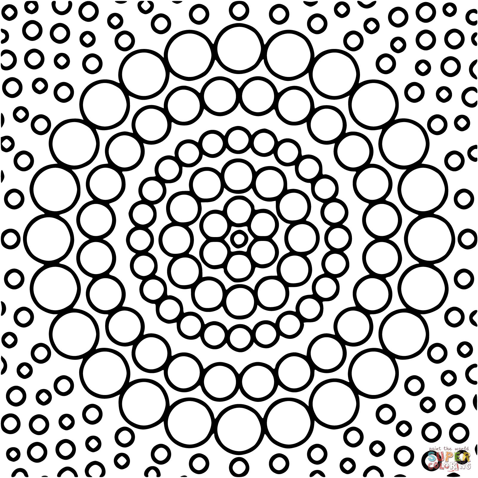 circle-mandala-4-coloring-pages.png (1600×1601) | Coloring ...