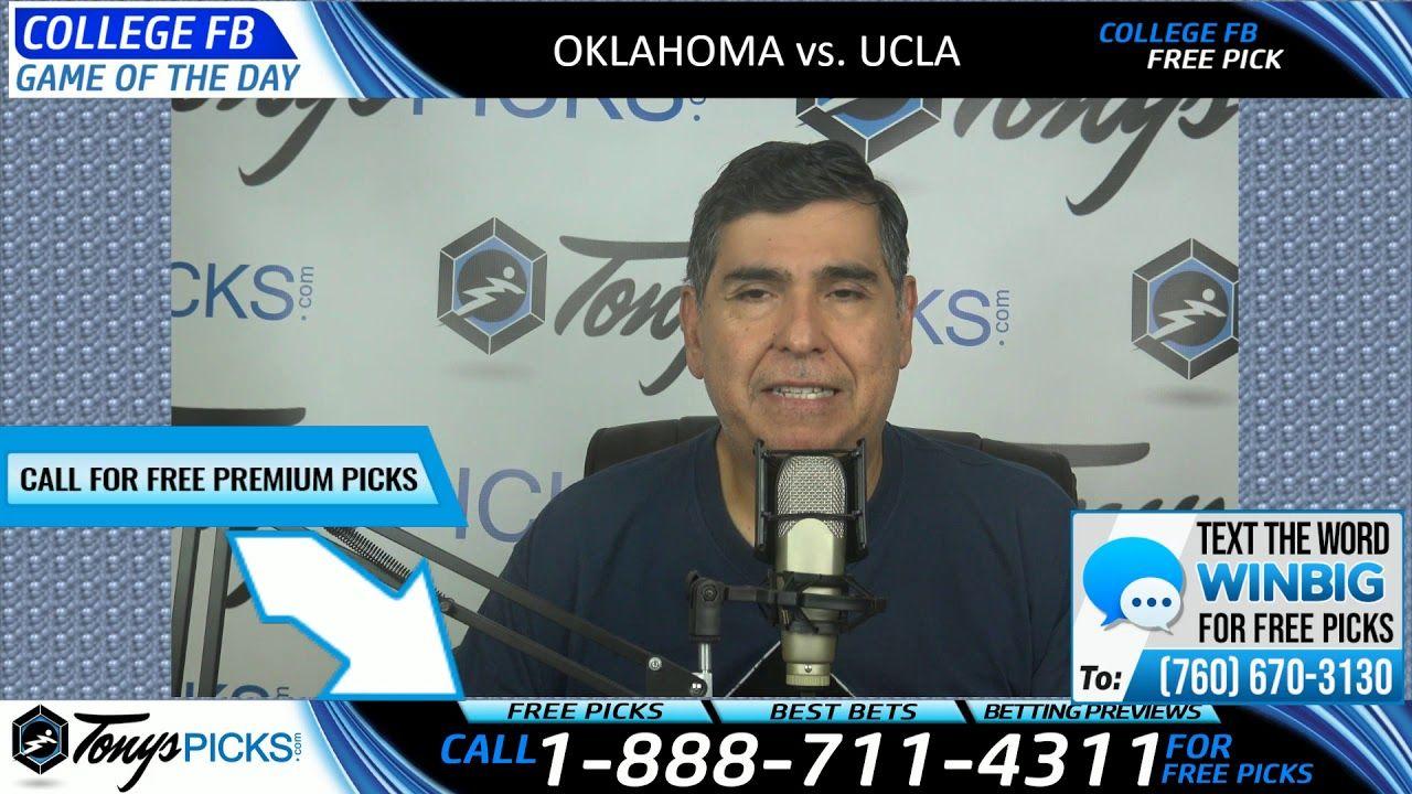 Oklahoma vs. UCLA Free NCAA Football Picks and Predictions