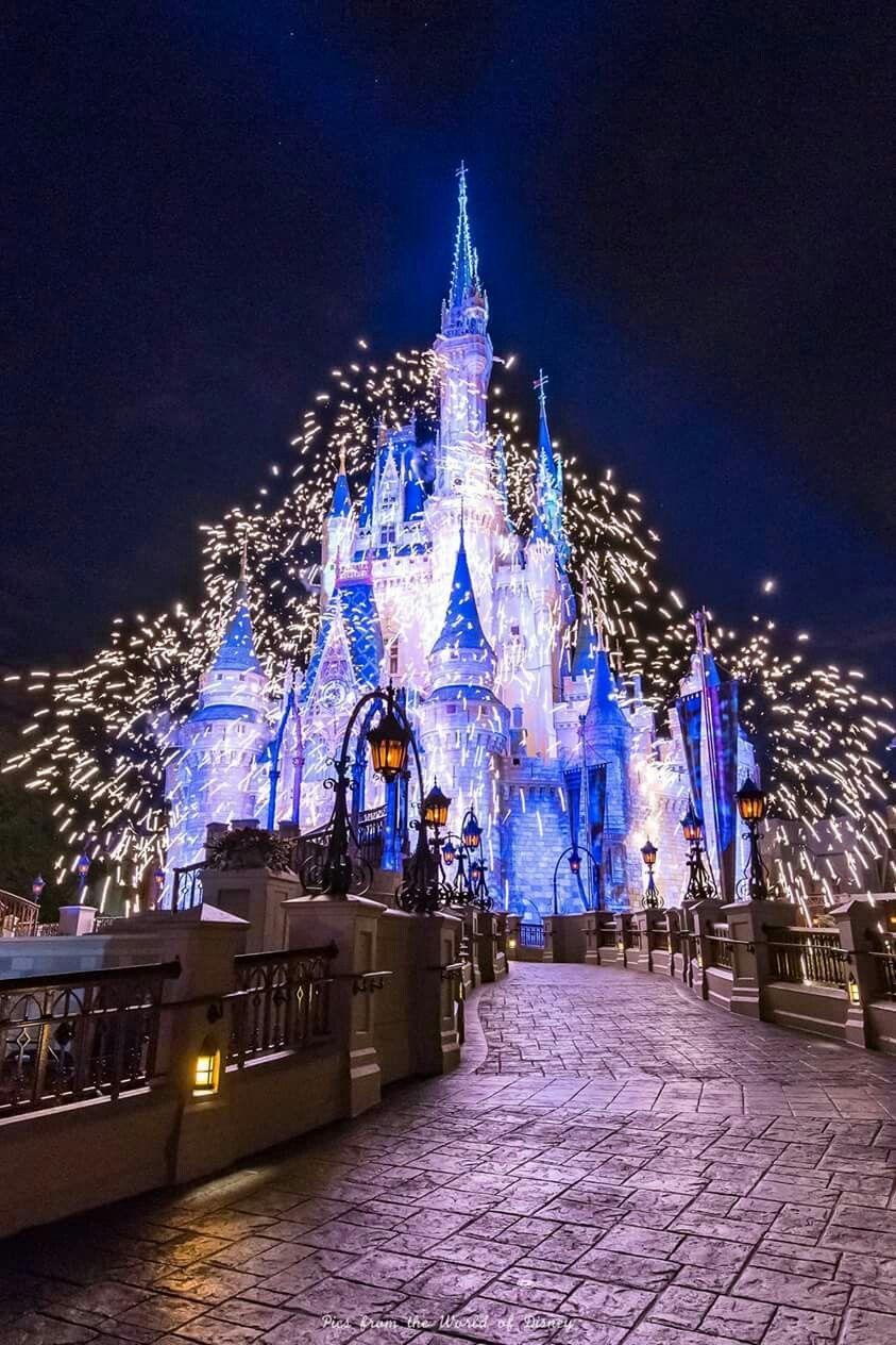 Fireworks Disneyland Disneyland Paris Noel Chateau Disney