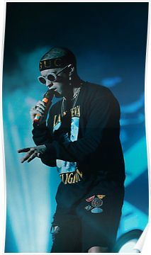 Bad bunny concert Poster