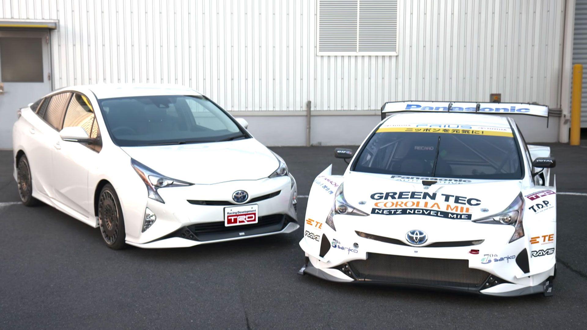2016 Toyota Prius Gt300 Racecar Debuts In Tokyo Is As