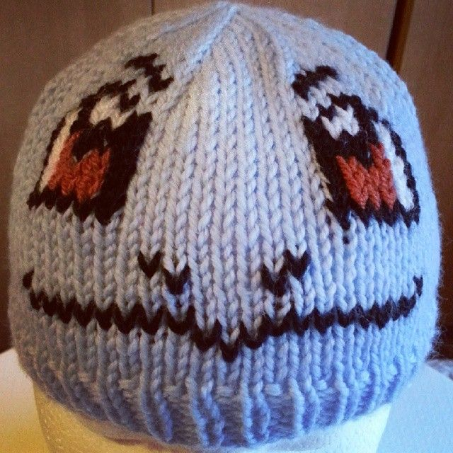 Knitted Pokemon character hat (Squirtle). For cosplay or just for ...