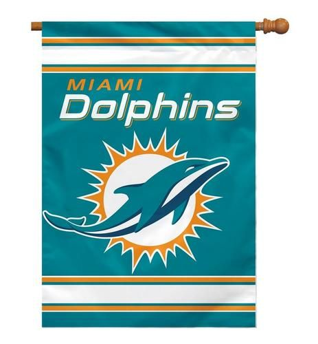 Miami Dolphins Large Banner Flag