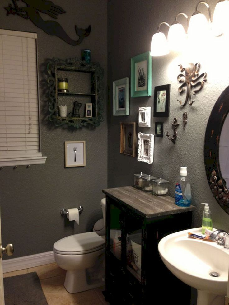 35 Awesome Mermaid Bathroom Diy Decor Ideas That You Could Create Itself #mermaidbathroomdecor