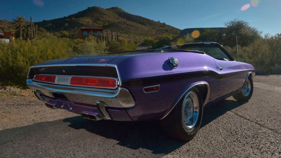 Mopar E Body Muscle Tops Mecum S Phoenix Sale Mopar Dodge Hemi