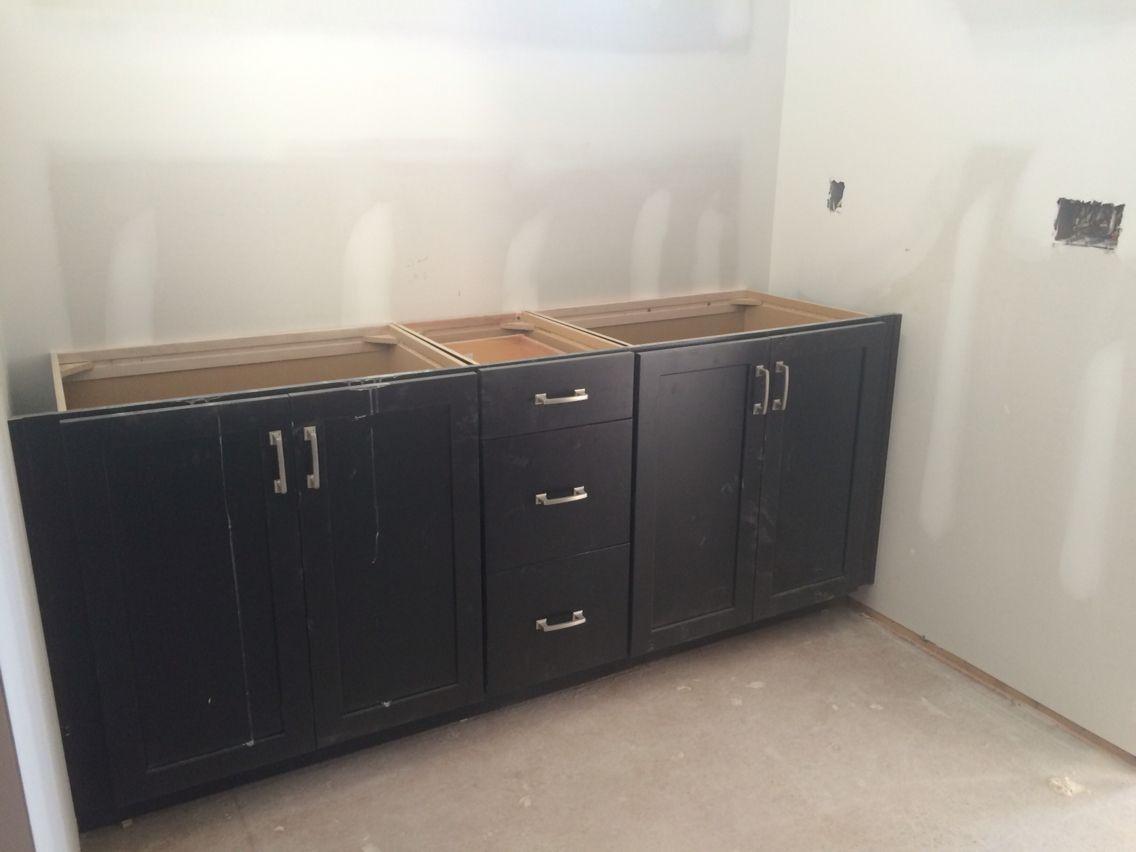 Master Bathroom Timberlake Sonoma Espresso Cabinets