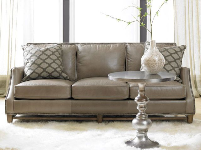 Reclining Leather Sofa Family Room Traditional with American Made ...