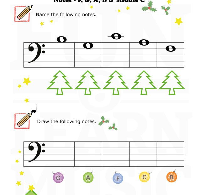 A Fun Holiday Themed Worksheet For All Young Student Music Ed