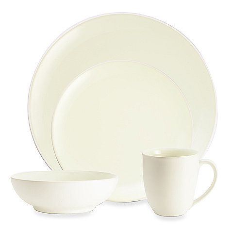 Noritake® Colorwave White Coupe Dinnerware  sc 1 st  Pinterest & Noritake® Colorwave White Coupe Dinnerware | Kitchen storage ...