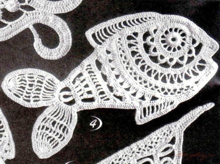 Häkeln Fisch Maritim - crochet fish | Handmade Maritim Nautica Sea ...